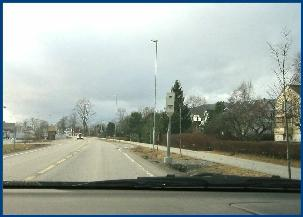 Fotoboksen her på Tøndergård i Molde har fått ned gjennomsnittsfarta på bilistene fra 54 til 47 kilometer i timen.