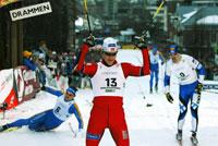 Jens Arne Svartedal seier sprint Drammen