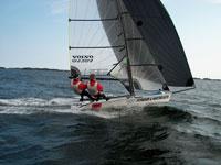 Sundby/Bowim har seilt seg opp til en annenplass i VM.