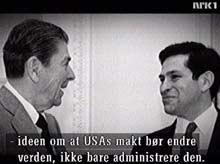 Paul Wolfowitz begynte sin politiske karriere hos Ronald Reagan.