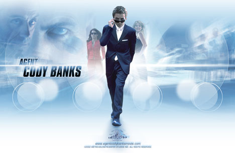 Filmen Agent Cody Banks kjem på lerret i Noreg til sommeren. Foto: www.agentcodybanksmovie.com