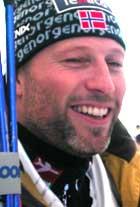 Lasse Kjus er sjelden best på trening.