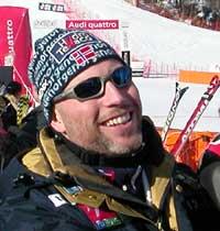Det var en stund siden vi så dette smilet (Foto: Svein Strømnes/NRK.no)