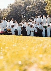 The Polyphonic Spree dukker opp på Roskilde i sommer. Foto: Promo.