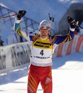 Hanevold har vunnet VM-gull før, her fra Khanty-Mansijsk i fjor.