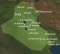 Tre nye eksplosjoner er i dag tidlig hørt i byen Mosul nord i Irak.