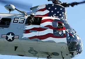 Det var et helikopter av denne typen som styrtet i Kuwait. Foto: John Schults, Reuters