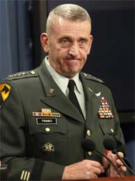 General Tommy Franks. (Arkivfoto)