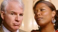 Steve Martin og Queen Latifah er populære i