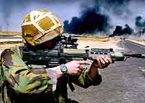 Britene kan komme til å trappe opp nærværet sitt i Irak. (Arkivfoto: Jeremy Lampen/Reuters)