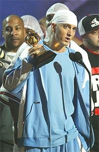 Eminem var våken på Grammy-utdelingen. Men på Oscar, der i mot. Foto: Frank Micelotta / Getty Images.