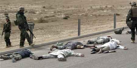 Mer enn 500 sivile er skadd etter bombing i den Sør-Irakiske byen Nassiriya. Foto: Reuters/Oleg Popov