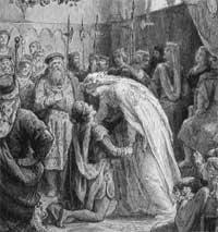 Prinsesse Kristina, kong Håkon Håkonssons datter, giftet seg med en spansk prins i 1258.