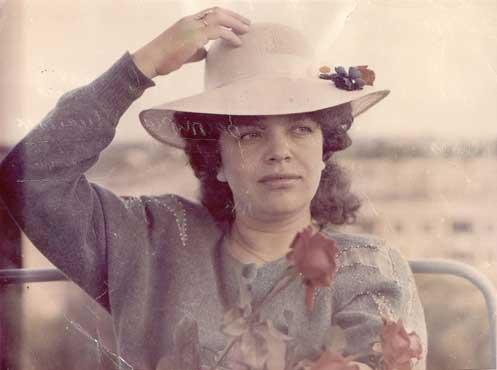 Galina Lapij, Den ukrainske kvinnen, i Nikopol 1990.