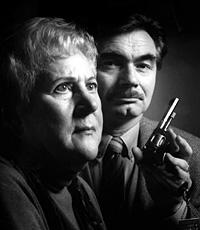 Bilde: Krimsjef i NRK Nils Nordberg kan presentere Piken og døden som radioens påskekrim. Edith Ranum som døde i fjor høst dramatiserte den klassiske detektivgrøsseren for Radioteatret.