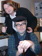 Radio Røynda-redaktør Finn Tokvam og Vetle-Ivar.