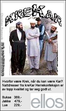 """(Innsendt av Christian Ramsvik i temakonkurransen """"Nye kjendisprodukter"""")"""