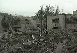 Mange sivile er funnet drept etter et rakettangrep i et boligstrøk i ettermiddag.
