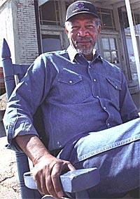 Morgan Freeman kommer til Notodden