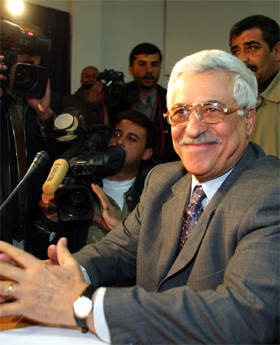 Palestinernes statsminister Mahmoud Abbas. (Arkivfoto: Reuters)