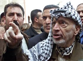 Yasir Arafat skaper problemer for den nye palestinske statsministeren. (Foto: Osama Silwadi, Reuters)