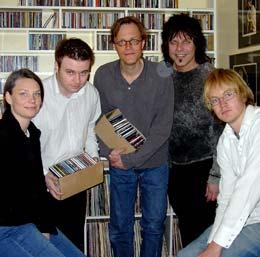 Juryen besto av Tone Donald, Roy Strømsnes, Jørgen Roll, Robert Sætervik og Øystein Greni. (Foto: Sten Fredriksen).