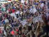 Det ble satt publikumsrekord på Lerkendal denne dagen. 28 569 personer møtte opp.