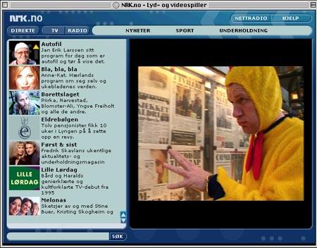 Den nye avspilleren samler alt som er av video og lyd fra NRK-universet.