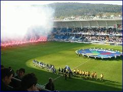 6302 tilskuere fikk oppleve at Magne Hoseth og Molde knuste et tafatt Lillestrømlag på Molde stadion. Foto: Gunnar Sandvik