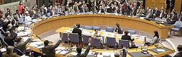 Møtet i Sikkerhetsrådet ble holdt for lukkede dører og var ventet å vare i mange timer.