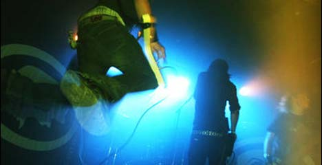 Stonegard live under Bylarm i Trondheim 2003. (Foto: Privat).