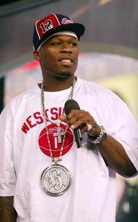 50 Cent roer ned utgivelses-hyppigheten. Foto: Getty Images