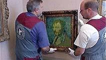 """""""van Gogh"""" er igjen på plass i Nasjonalgalleriet i Oslo. Foto. NRK"""