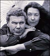 Raymond Carver og kona, Tess Gallagher.
