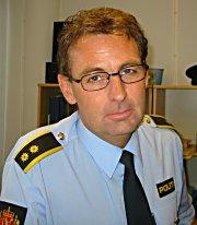 Håkon Grøttland, leder for etterforskningsseksjonen i Søndre Buskerud politidistrikt.