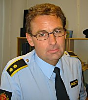 Politioverbetjent Håkon Grøttland. Foto: NRK.