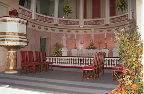 Maud Angelica skal døpes her i Slottskapellet 2.juli. (Arkivfoto: Bjørn Sigurdsøn, Scanpix)