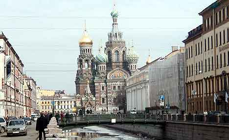 St. Petersburg er 300 år i år.