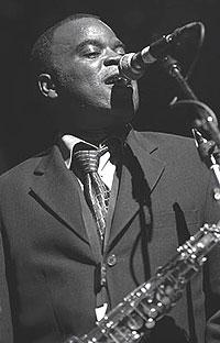 Maceo Parker var i Bergen sist helg og spilte under Ole Blues. Foto: Promo.