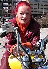 Unni Wlhelmsen tror ikke det passer for alle artister å drive eget plateselskap. Foto: Marius Saasen Strand, NRK.