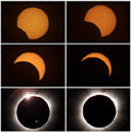 Solformørking i fleire fasar