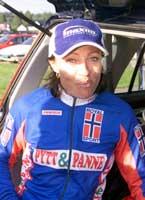 SYKLER: Anita Valen var på vei til 4.etappe i rittet hun leder da resultatet av B-prøven ble kjent (Foto: Gunnar Mjaugedal/Scanpix).