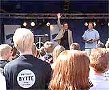 Jan Petersen, Høyres valgkampåpning 2001