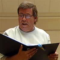 Hans Petter Hansen skal bare synge.