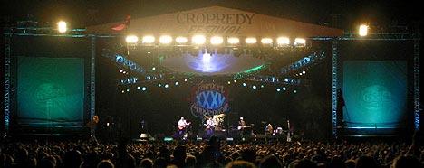 Det Fariport Convention bruker det meste av sin energi på, er den årlige festivalen Cropredy. Foto: faircrop.co.uk.
