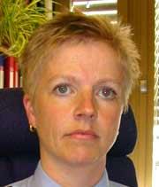 Poitiadvokat ved Telemark Politidistrikt, Kristin Albretsen.