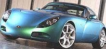 TVR er en spesiallaget sportsbil for entusiaster - og fartssyndere...