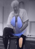 KOLS-pasient på sykkel