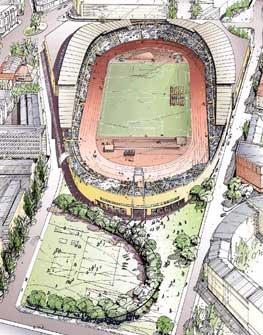 Slik kan Bislett Stadion se ut i 2007.