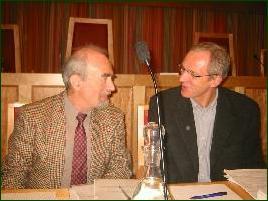 De to rettspykiaterne i Anooshesaka - Berthold Grunfeld og Jon Olav Roaldset. Foto: Gunnar Sandvik